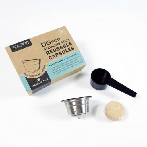 Reviews 1x Reusable capsule Sealpod for Dolce Gusto ®