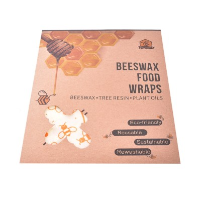 Wax wipes EcoTree - set of 3 (S + M + L)