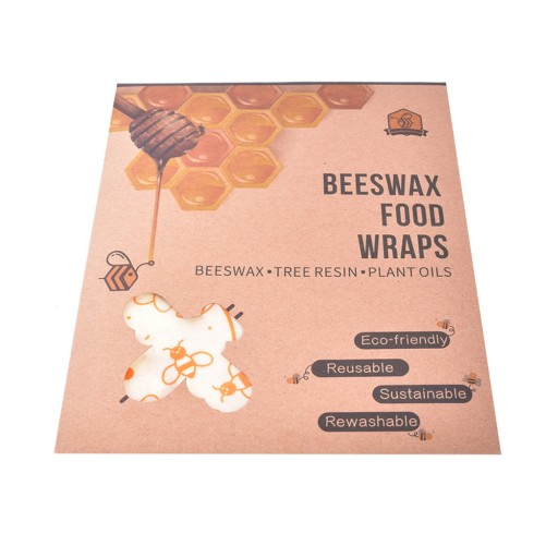 Reviews Wax wipes EcoTree - set of 3 (S + M + L)
