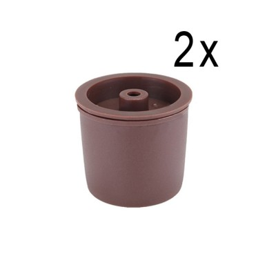 Reusable ECO capsules for Illy ® - 2 pcs