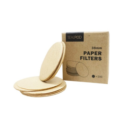 Reviews Paper filters Sealpod for Dolce Gusto ® and Cafissimo ® - 200 pcs