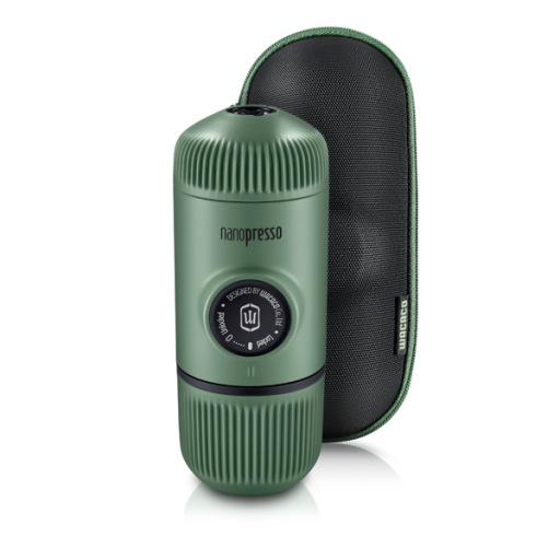 Reviews Wacaco Nanopresso (moss green) + hard shell